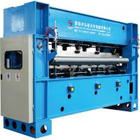 Three Roller 3.5m Fabric Calender Machine , Textile Rolling Machine For Nonwoven Manufactures