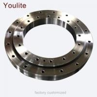 Buy cheap Wind Turbine Non-geared Double Row Ball Slewing Bearing Turntale Hydraulic Slew Drive Worm Gear Slewing Ring Bearing from wholesalers