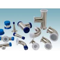 Buy cheap AISI 304 Stainless Steel Sanitary Fittings Long 45 Degree Elbow For Beverage from wholesalers