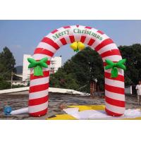 Buy cheap 6m Outdoor Inflatable Advertising Products Christmas Grinch For Merry Christmas from wholesalers