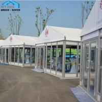 Buy cheap Glass Door Outdoor Marquee Tent Rentals Usage for Commercial Showroom product