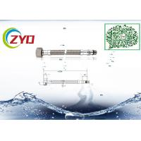 Buy cheap Home Kitchen Faucet Supply Lines, Good Seal Flexible Stainless Steel Braided Hose from wholesalers