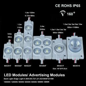China LED Module High Power LED Modules SMD5050 LED Modules 15watt 12 watt 9w 6w 3w 2.4w 2w 1.5w 1.2w 0.72w 0.36w 1-5 lenses on sale