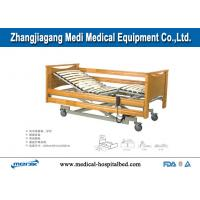 Buy cheap Adjustable Home Care Beds With Central Locking Casters Remote Handset from wholesalers
