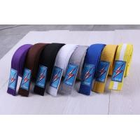 Buy cheap karate belt colorful belt judo belt taekwondo belt bjj gi belt from wholesalers