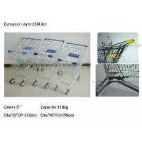 Buy cheap 150 Liter European Style Supermarket Shopping Trolley from wholesalers
