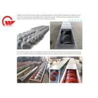 Buy cheap Large Angle Screw Conveyor Machine Long Distance For Powder Double Pitches from wholesalers