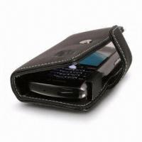 Buy cheap Leather Case for Blackberry 8100 Use, Book Type, Provides Protection Against Dirt and Crash from wholesalers