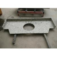 Buy cheap Modern Man Made Stone Countertops Prefabricated Quartz Vanity Top from wholesalers