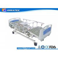 Buy cheap 5-function Linak electric hospital bed with hand controller from wholesalers