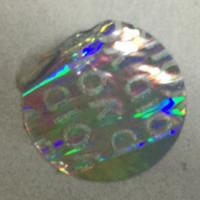 Buy cheap Tamper Evident Void Hologram Sticker / Hot Stamp Stickers Glossy Varnish from wholesalers