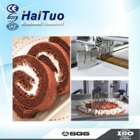 Buy cheap In line loaf Cake ultrasonic cutter ultrasonic tray cake cutting machine from wholesalers