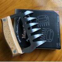 Buy cheap Stainless Steel BBQ Meat Shredder Bear Claw with TPR Handle Pulled Pork Shredder Claws from wholesalers