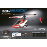 Buy cheap NEW Mini In door 4CH 2.4G R/C Single Propeller Helicopter with Gyro,ABS Rc heli,RC toy from wholesalers