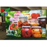 Buy cheap Depth 30mm LED Fabric Light Box Textile Frame For Restaurant Menu Board from wholesalers