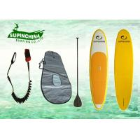 Buy cheap Fiberglass adult water ski Epoxy Paddle Boards surfboard of Round nose from wholesalers