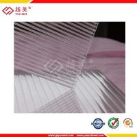 Buy cheap clear 10mm polycarbonate sheet twin wall hollow sheet from wholesalers
