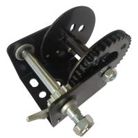 Buy cheap Black Color 600lb Manual Winch With Brake / Portable Hand Crank Winch from wholesalers