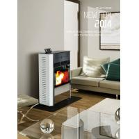 Buy cheap Two door! More Safe Compact Fireplace/Wood Pellet Stove(CR-08T) from wholesalers