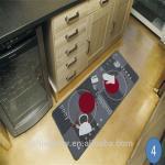 Buy cheap Anti-slip printed loop pile Nylon floor mat from wholesalers