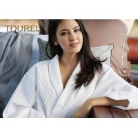 Buy cheap Fully Stocked Velour Fancy Fluffy Luxury Cotton Bathrobes For Women from wholesalers