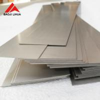 Buy cheap Gr2 Flat Titanium Sheet Plate 1mmx100mmx2000mm Polished Surface ASTM B265 product