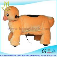 Hansel battery power riding plush toy horse animal on wheels Manufactures