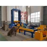 Automatic Spot Welding H-Beam Production Line For Steel Structure / H Beam Production Manufactures