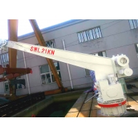 Buy cheap Slewing Hydraulic Deck Crane 60m/min For Rescue Boat Life Raft from wholesalers