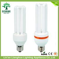 Buy cheap CFL 3U Shaped Compact Fluorescent Light Bulbs 18W 12mm 7000K Lamp from wholesalers