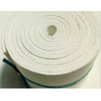 Buy cheap Alumina Transportation Polyester Air Slide Fabric Fluidization Fabrics White Color from wholesalers
