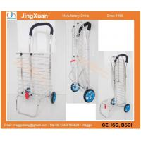 China RE1111L Aluminum shopping trolley,Portable Folding Shopping Grocery Basket Cart Trolley Tr on sale