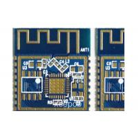 Buy cheap 4 Layer Half Hole Bluetooth Module Fr4 Circuit Board With Exposure Gold Of Antenna from wholesalers