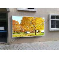 Buy cheap 65536 Grey Scale Advertising Led Display Screen P10 With Aluminum Cabinet from wholesalers