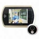 Buy cheap Digital Door Peephole Viewer with Door Bell, Luxury 3.5 LCD, Night Mode, Fits 120mm Thick Door from wholesalers