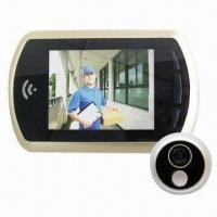 Wholesale Digital Door Peephole Viewer with Door Bell, Luxury 3.5 LCD, Night Mode, Fits 120mm Thick Door from china suppliers