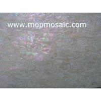 Buy cheap Yellow Coarse grained korean abalone shell laminate product