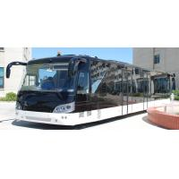 Wholesale 14M length 3m width luxury airport shuttles 110 passenger standing area from china suppliers