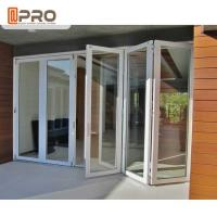 Buy cheap Rating Energy Saving Triple Double Glazed Folding Doors Water - Proof from wholesalers
