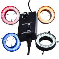 micrscope ring light  colorful led ring light yellow red blue colors