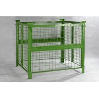 Buy cheap 1000mm Width Steel Push Back Pallet Rack Pallet Container High Performance from wholesalers
