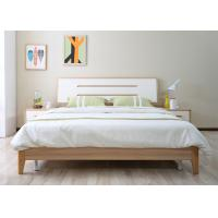 China King Bed Modern Bedroom Furniture Sets With 2 Door High Gloss Painting Wardrobe on sale