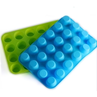 Buy cheap Oven Safe 24 Cavity Mini Donut Silicone Mould For Baking from wholesalers