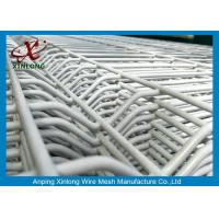 Wholesale Powder Coated Galvanized Welded Wire Mesh Fence Panels 2.2m 2.5m from china suppliers