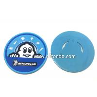 Wholesale Soft pvc rubber silicone coaster custom MICHELIN round promotional coaster for Mcdonald KFC Starbucks from china suppliers