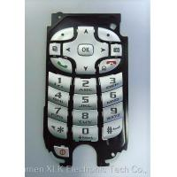 Buy cheap Plastic Cap Plastic Rubber Keypad For Mobile Phone Environment Friendly Wear Resistance from wholesalers