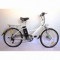 Buy cheap Electric Bike with Lithium Battery, Aluminum Alloy Frame and Adjustable Hand Bar from wholesalers