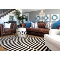 Buy cheap Wholesale White And Black Strip Zebra Carpet Cheap Aera Rugs Of 2017 New Design Residential Rug BV And SGS Certified from wholesalers