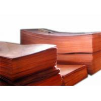 Buy cheap 0.1mm 1mm Decorative Copper Sheets , Pure Copper Plate For Engraving JIS H3100 C1020 from wholesalers