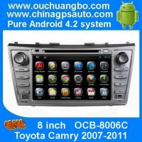 Buy cheap Ouchuangbo Car DVD Audio Stereo 3G Wifi BT USB for Toyota Camry 2007-2011 GPS Navi Android 4.2 System OCB-8006C from wholesalers